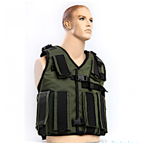 Tactical Radio Vest for Military Radio Operators