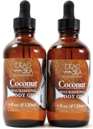 Dead Sea Collection Coconut Body Oil