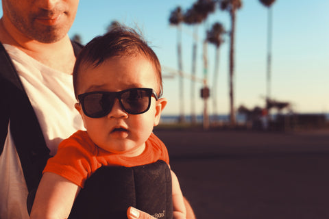 Baby in sunglasses