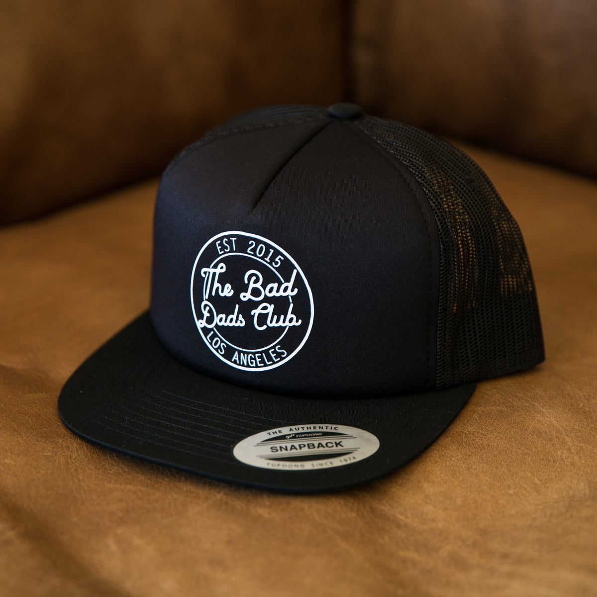 Bad Dads Circle Logo Trucker