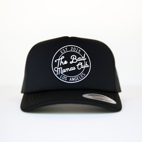 Bad Mamas Circle Logo Trucker
