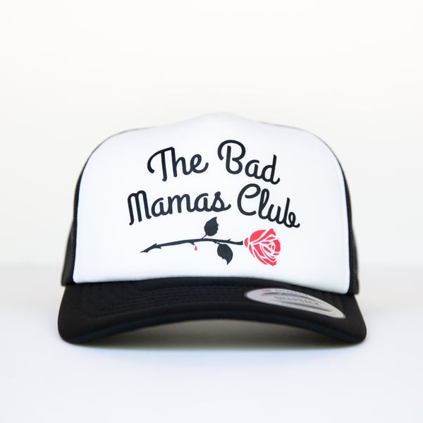 BAD MAMAS ROSE TRUCKER SNAPBACK