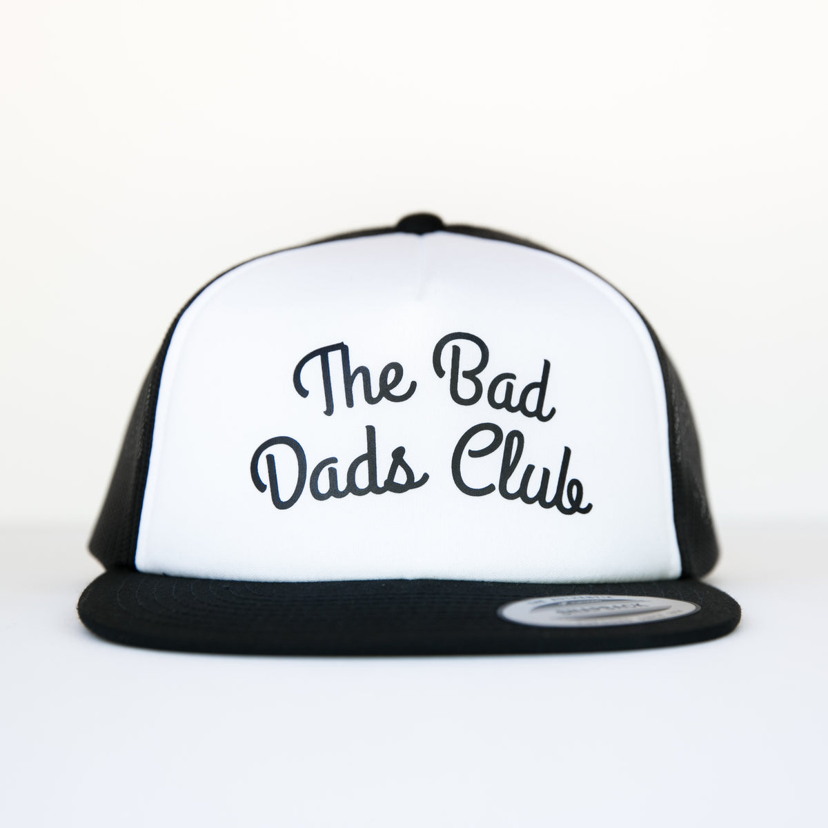 BAD DADS ARCH TRUCKER SNAPBACK- WHITE