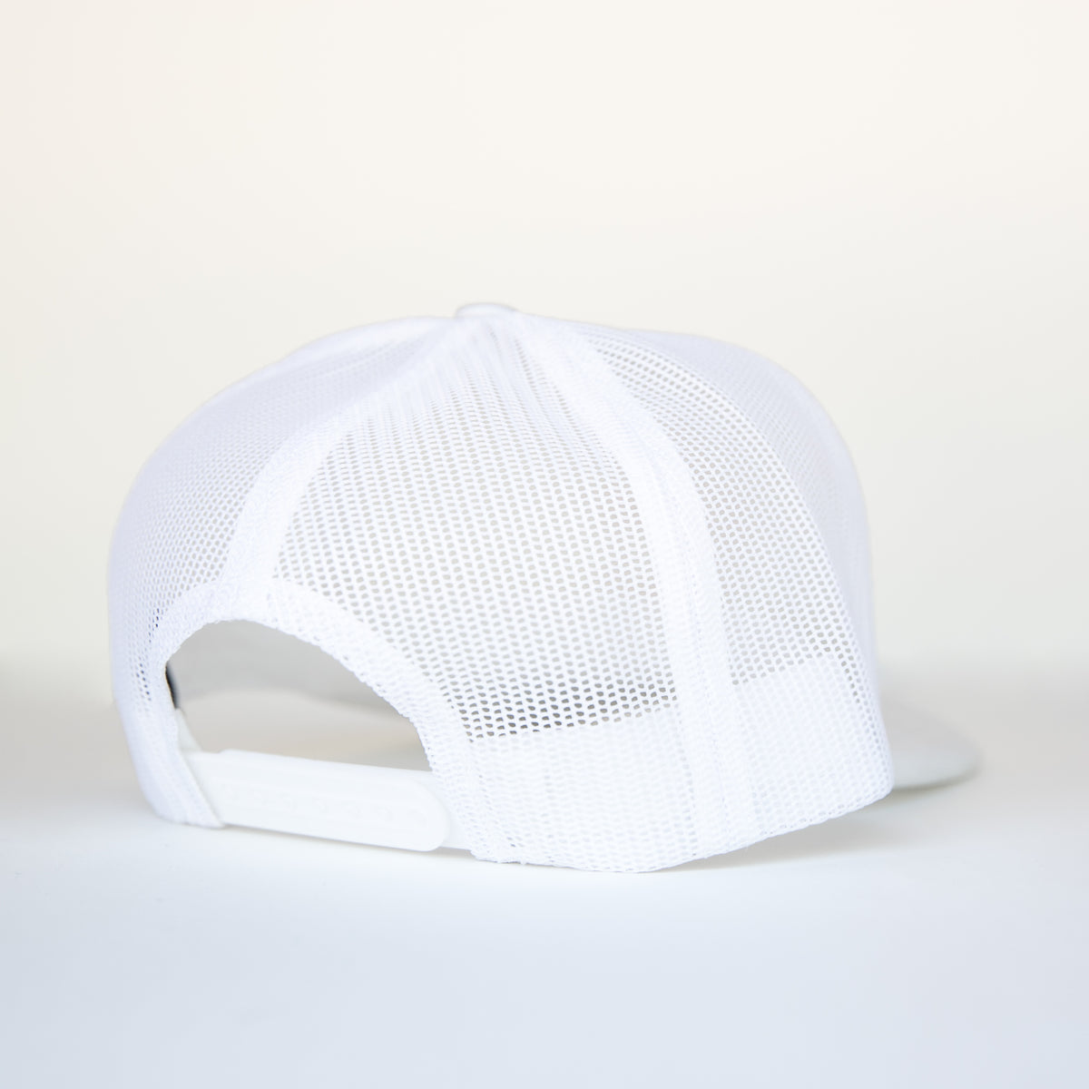 BAD MOTHER TRUCKER SNAPBACK- WHITE