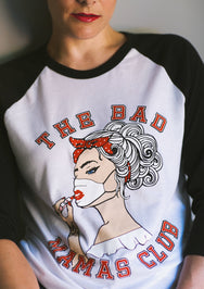 """BAD MAMAS x COFFEE DOSE"" Ltd Edition RAGLAN SHIRT - THE BAD DADS CLUB"