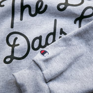"""The Bad Dads Club"" X CHAMPION Gray Sweatshirt"