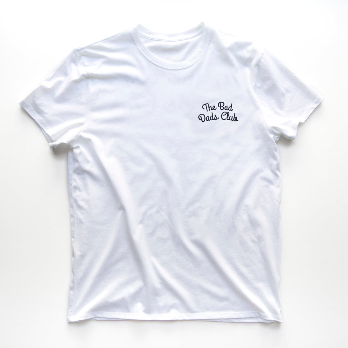 """THE BAD DADS CLUB"" DOUBLE ARCH LOGO TEE WHITE"
