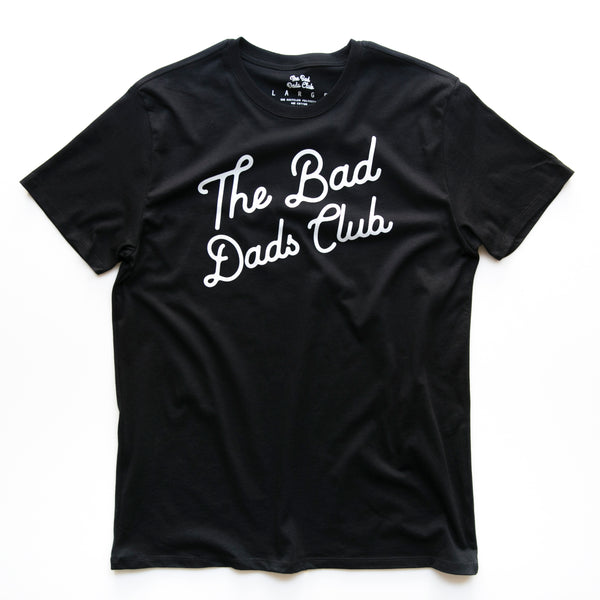 BAD DADS CLASSIC TILT T-SHIRT - BLACK