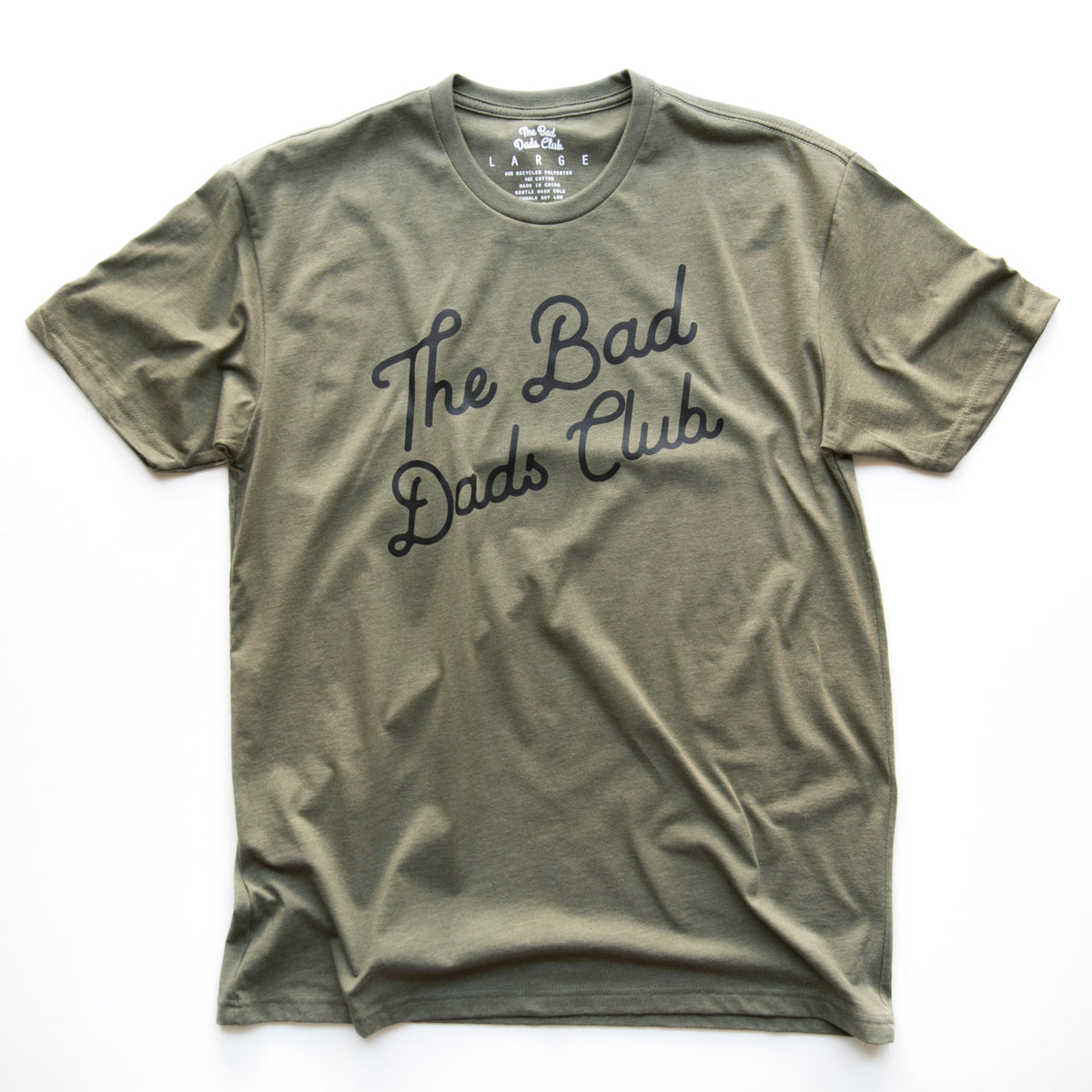 """THE BAD DADS CLUB"" CLASSIC TILT (ARMY GREEN)"