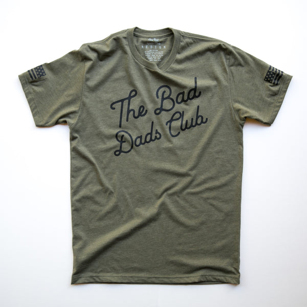 BAD DADS CLASSIC TILT (AMERICAN FLAG)- ARMY GREEN