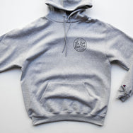 BAD DADS x CHAMPION Circle Logo Hoodie GRAY