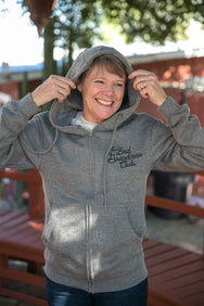 BAD GRANDMAS ZIP-UP HOODIE