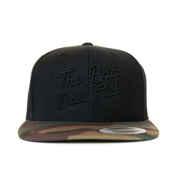 Bad Dads CAMO FLAT BILL Snapback
