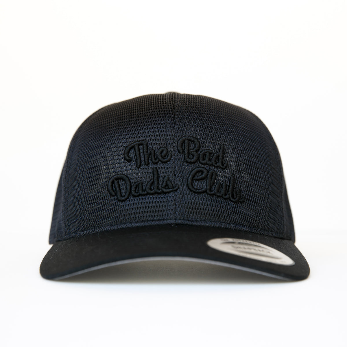 Bad Dads ALL MESH BLACKOUT Snapback