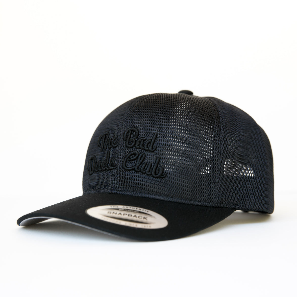 BAD DADS ARCH ALL MESH BLACKOUT SNAPBACK