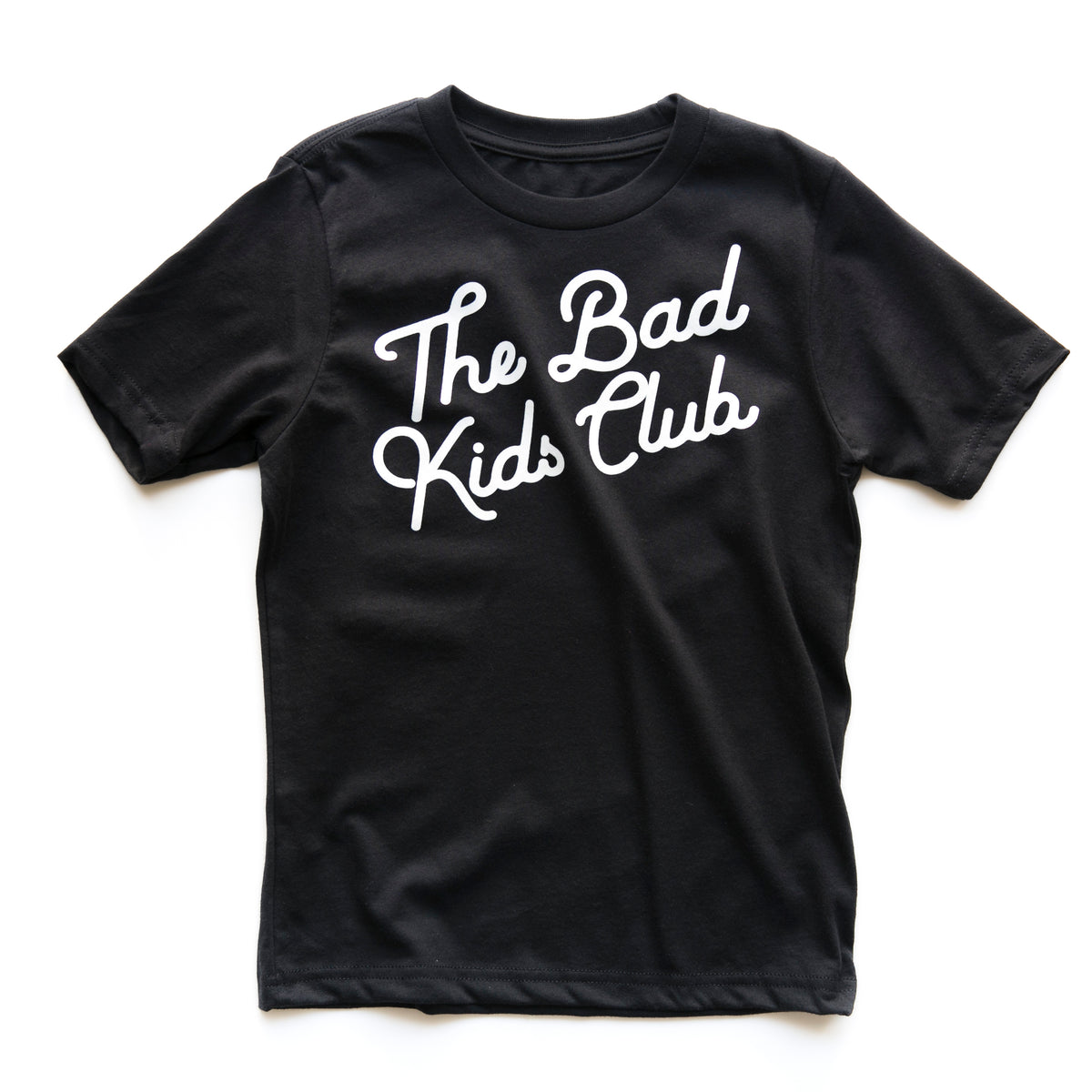 BAD KIDS CLASSIC TILT T-SHIRT- BLACK