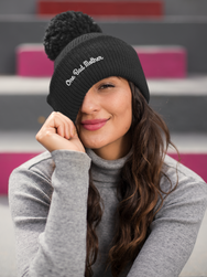 """ONE BAD MOTHER"" BEANIE"