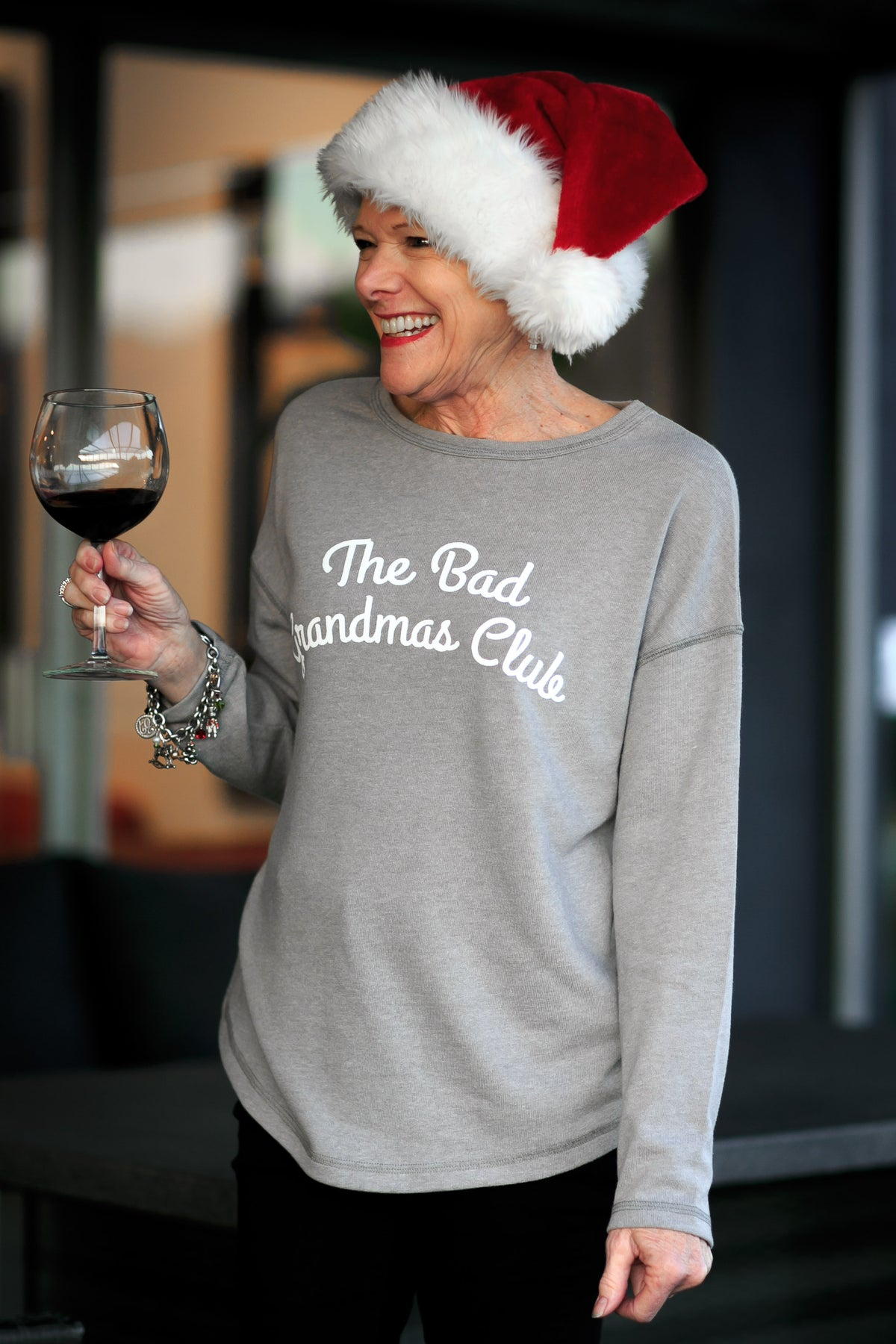 """THE BAD GRANDMAS CLUB"" SWEATER - THE BAD DADS CLUB"