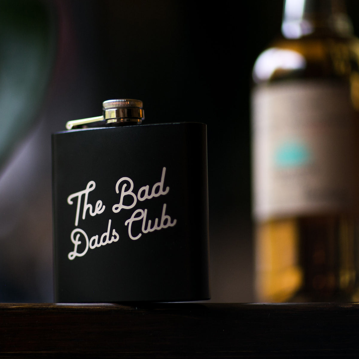 The Bad Dad's Hip Flask