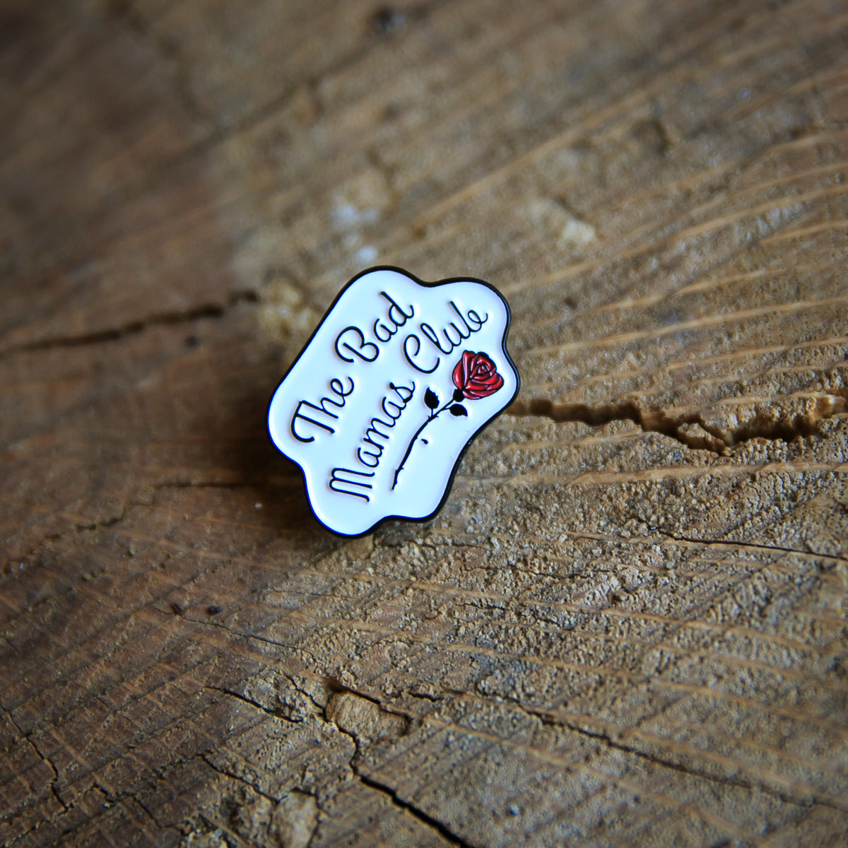 BAD MAMAS LOGO PIN - THE BAD DADS CLUB