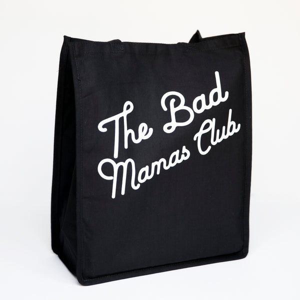 """THE BAD MAMAS CLUB"" Tote Bag (27L)"
