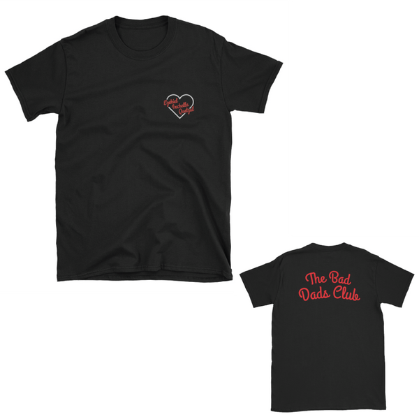 I Heart You Custom T Shirt (Design with your Kid's Names) - THE BAD DADS CLUB