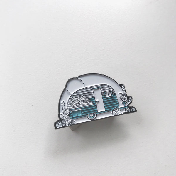 Camper Enamel Pin by The Bad Dads Club - THE BAD DADS CLUB