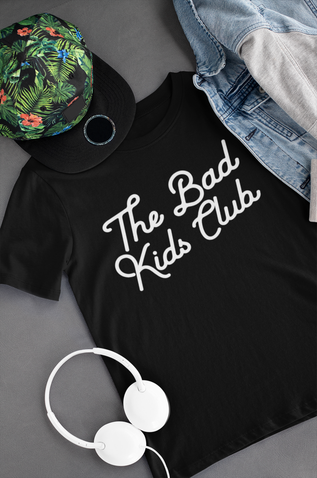 """The Bad Kids Club"" LOGO TEE - THE BAD DADS CLUB"