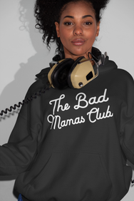 """The Bad Mamas Club"" x CHAMPION Hoodie - THE BAD DADS CLUB"