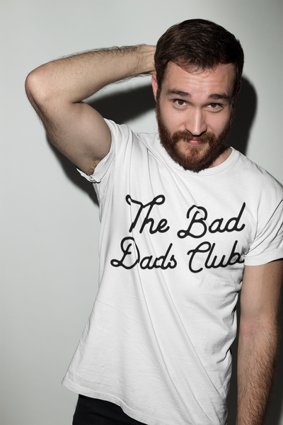 """THE BAD DADS CLUB"" CLASSIC TILT WHITE"