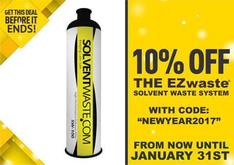 Solventwaste New year banner