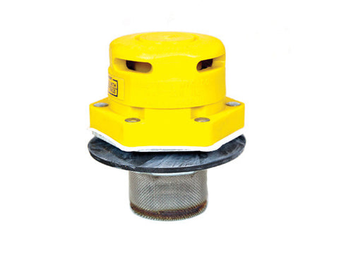 "Polyethylene Vertical Drum Vent for petroleum based applications, Flame Arrester, 2"" bung opening - SolventWaste.com"