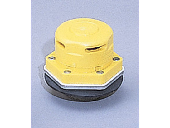 "Polyethylene Vertical Drum Vent for chlorinated solvents, S/S Flame Arrester, 2"" bung opening - SolventWaste.com"
