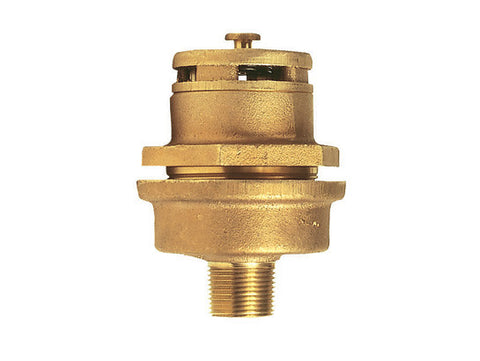 "Brass Vertical Vent Assembly for 3/4"" bung opening - SolventWaste.com"