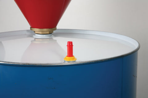 Polyethylene Vertical Pop-up Drum Gauge, 5 long, for 3/4 NPT bung opening - SolventWaste.com