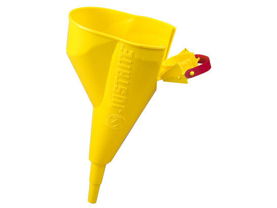 Polypropylene Funnel for Type I steel Safety Cans sizes 1 gallon (4L) and above only - SolventWaste.com
