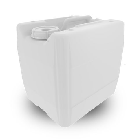 EZWaste® UN/DOT Container 13.5L HDPE, 70S Cap, 128 containers/ pack - SolventWaste.com