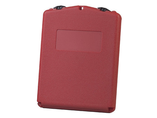 Document Storage Box for SDS sheets, medium-sized, polyethylene, lockable front opening, Case of 20 - SolventWaste.com