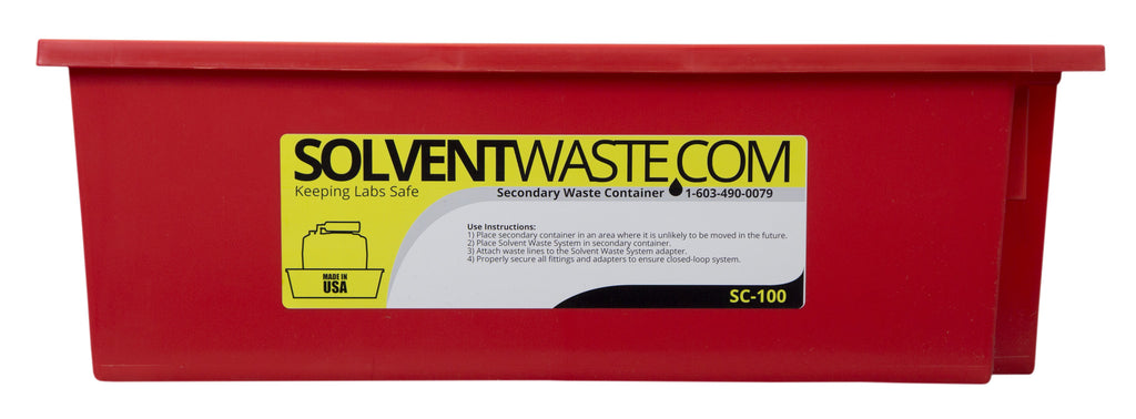 SolventWaste.com Secondary Container for 1-10L Carboys - SolventWaste.com