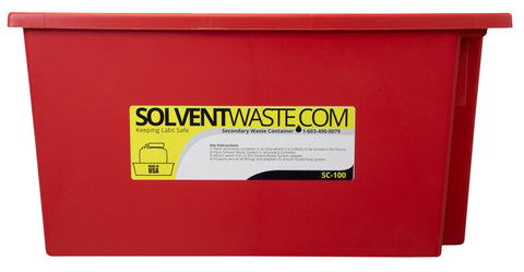 Solventwaste.com Secondary Container for 13.5L or 20L Carboys, 6/pk - SolventWaste.com