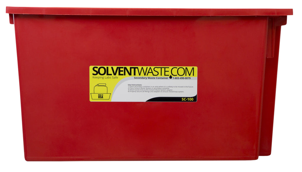 SolventWaste.com Secondary Container for 40-60 L Carboys, 3/pk - SolventWaste.com
