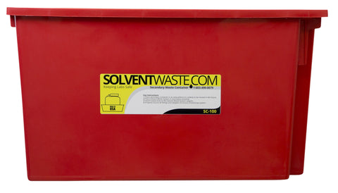 SolventWaste.com Secondary Container for 40-60 L Carboys - SolventWaste.com