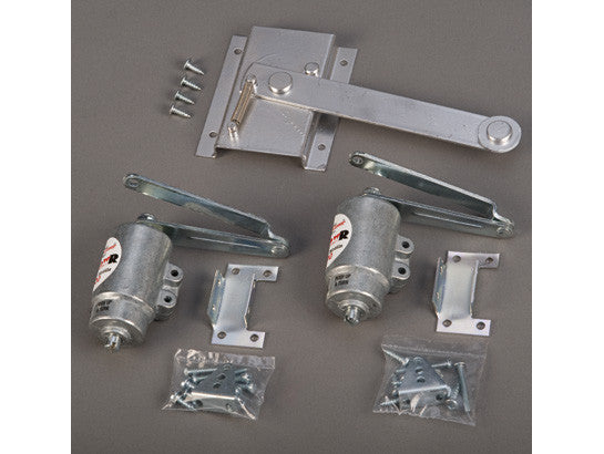 Conversion Kit for safety cabinet to convert doors from manual-close to self-close - SolventWaste.com