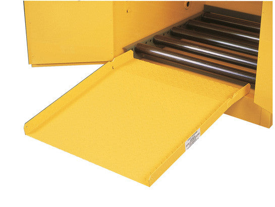 Drum Ramp for all safety drum cabinets - SolventWaste.com