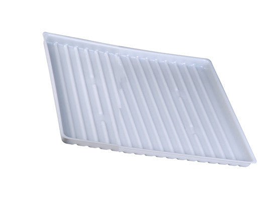 Polyethylene Tray for shelf no. 29950 or 15-gallon Under Fume Hood safety cabinet. - SolventWaste.com