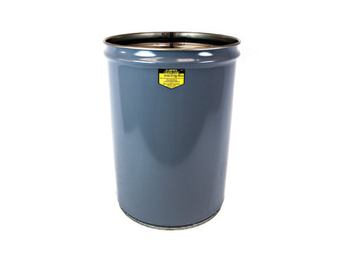 Cease-Fire® Waste Receptacle, Safety Drum Can, 12 gallon (45L) - SolventWaste.com