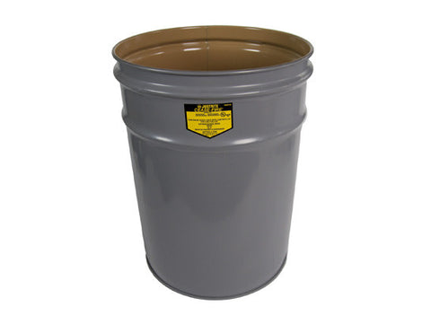Cease-Fire® Waste Receptacle, Safety Drum Can, 4.5 gallon (17L) - SolventWaste.com