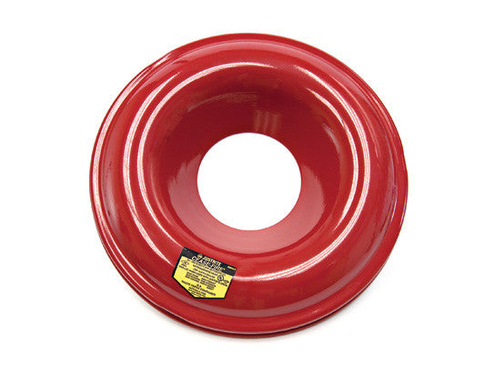 Red-Painted Steel Head for use with Cease-Fire® Waste Receptacle Safety Drum Can, 30 gallon (110L) - SolventWaste.com