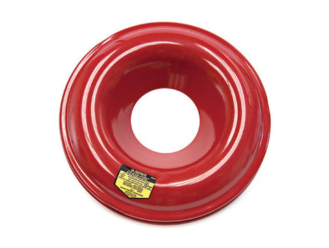 Red-Painted Steel Head for use with Cease-Fire® Waste Receptacle Safety Drum Can, 12 and 15 gallon (45 and 57L) - SolventWaste.com