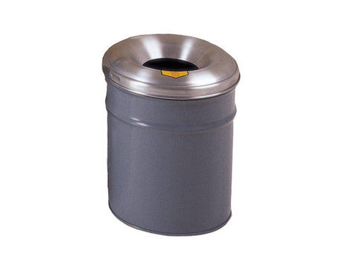 Cease-Fire® Waste Receptacle, Safety Drum Can with Aluminum Head, 6 gallon (23L) - SolventWaste.com